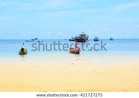 Koh Tao, island in Thailand - stock photo