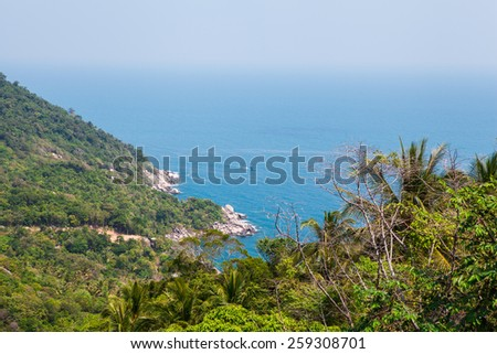 Koh Tao island, Southern of Thailand - stock photo