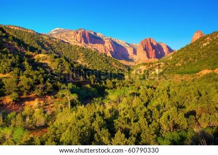 Kolob Canyons - stock photo