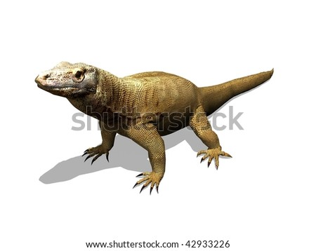 Stock images similar to id 64391977 illustration of a for Komodo dragon tattoo