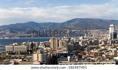 Konak Square in Izmir - stock photo