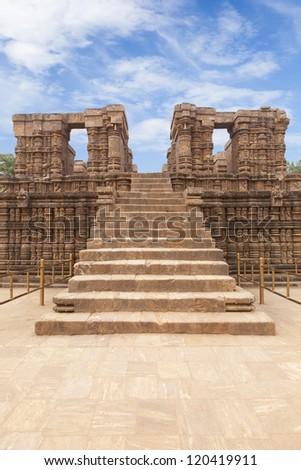 Konark Sun Temple, Orissa, India. - stock photo