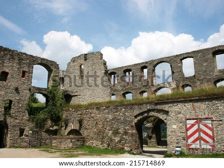 KONIGSTEIN IM TAUNUS, GERMANY, AUGUST The 1st 2014: Konigstein im Taunus is a climatic spa and lies on the thickly wooded slopes of the Taunus in Hesse, Germany.