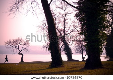 Konstanz (Constance) in Germany, lake Constance - stock photo