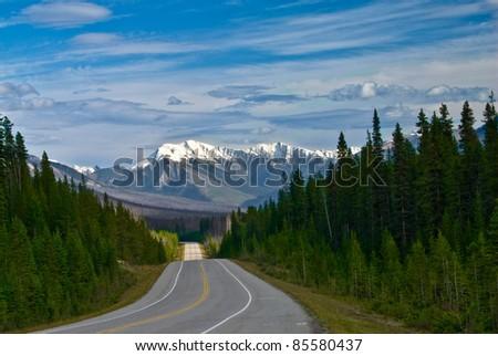 Kootenay National Park - stock photo