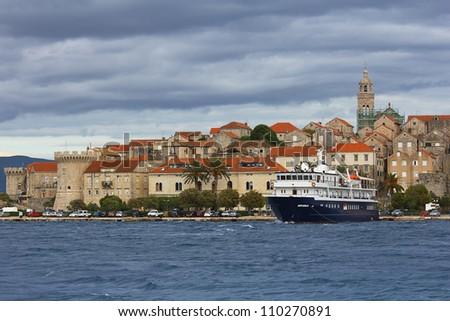 Korcula. Croatia. - stock photo