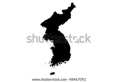 korea - stock photo