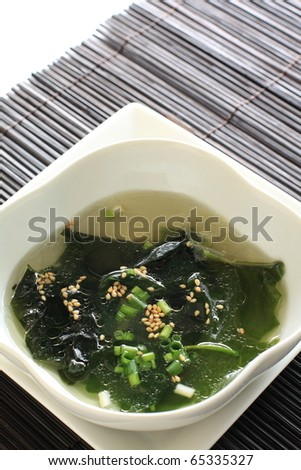 Korean cuisine, seaweed soup