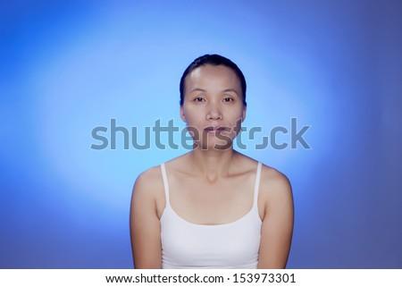 Korean female. - stock photo