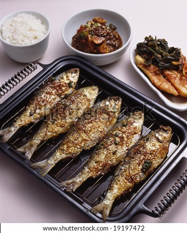 Korean Roasted Food - stock photo