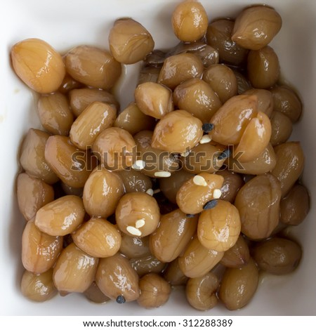 Korean Soybean side dish