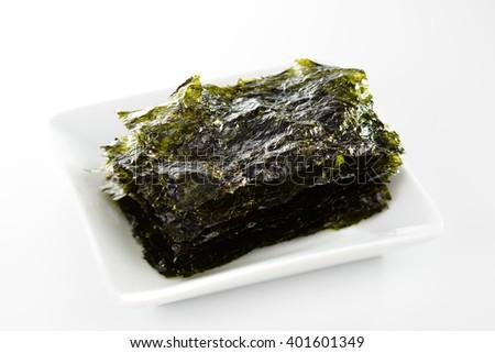 Korean style seaweed  - stock photo