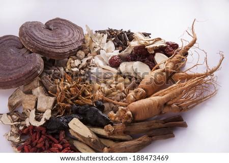 Korean traditional medicine - stock photo