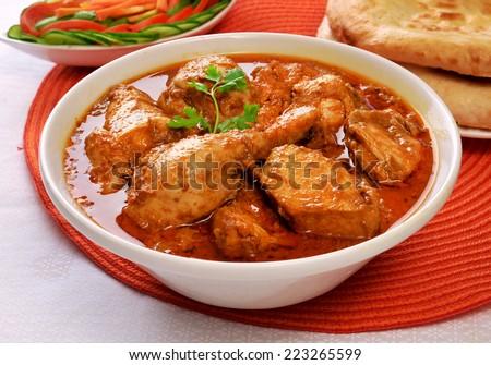 Korma Chicken-4 - stock photo