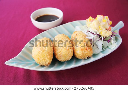 Korokke - stock photo