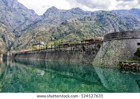 Kotor City Wall Fortification, Montenegro
