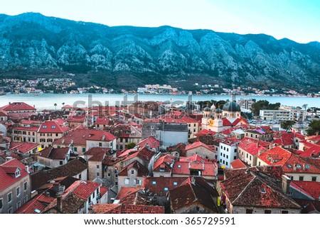 Kotor, Montenegro, January, 6, 2016: The image of Kotor, Montenegro - stock photo