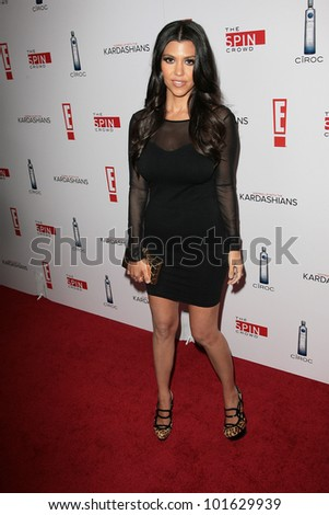 Kourtney Kardashian at the  'Keeping Up with the Kardashians/The Spin Crowd' Series Party, Trousdale, West Hollywood, CA. 08-19-10