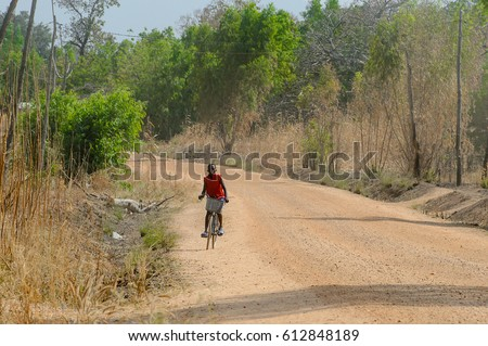Couple Standing On Road Colorful Bright Stock Photo 746178646