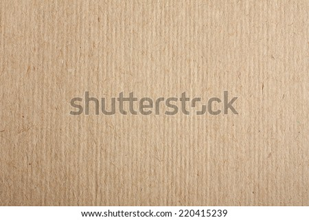 Kraft Paper Texture - stock photo