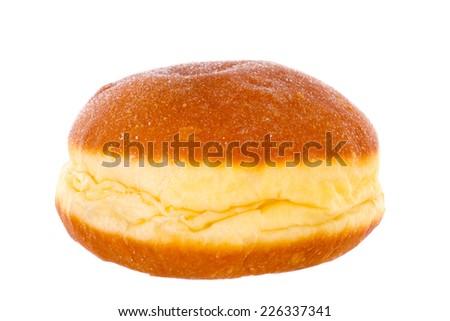 Krapfen Berliner Pfannkuchen Bismarck Donut - stock photo