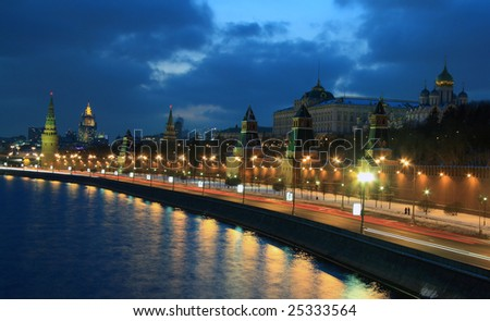 Kremlin in Moscow - stock photo