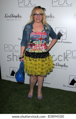 """Kristen Vangsness at the 2nd Annual Patterns for Paws """"Pup-A-Razzi""""Benefiting the Amanda Foundation, Pacific Design Center, West Hollywood, CA. 08-24-11 - stock photo"""