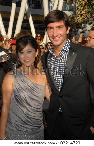 "Kristi Yamaguchi and Evan Lysacek  at ""The Twilight Saga: Eclipse"" Los Angeles Premiere, L.A. Live, Los Angeles, CA. 06-24-10"