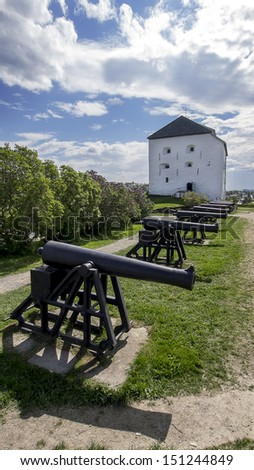 Kristiansten Fortress in Trondheim, Norway