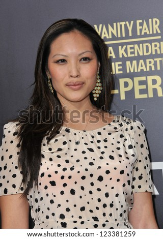 "Kristy Wu at the premiere of her movie ""End of Watch"" at the Regal Cinemas LA Live. September 17, 2012  Los Angeles, CA Picture: Paul Smith - stock photo"