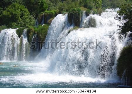 Krka national park - stock photo