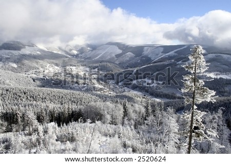 Krkonose mountains