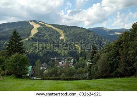 Krkonose mountains, Czech republic, summer view