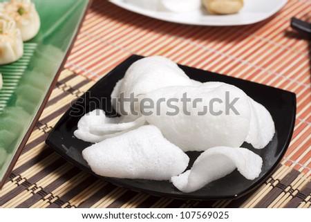 Krupuk udang - stock photo