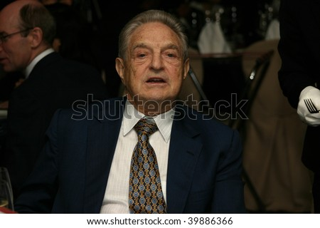 KUALA LUMPUR - DECEMBER 15: George Soros at the London School of Economics Alumni Dinner, Ritz Carlton Hotel December 15, 2006 in Kuala Lumpur, Malaysia. - stock photo