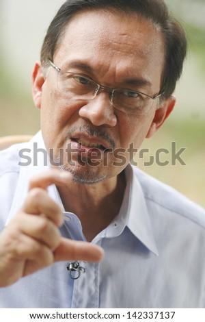 kuala lumpur jan 20 malaysian opposition stock photo 142337137