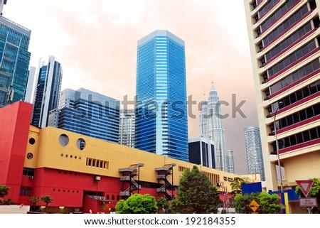 Kuala Lumpur. Malasia - stock photo