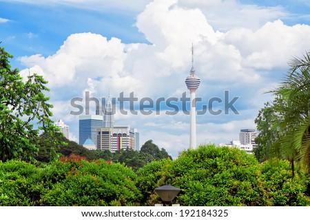Kuala Lumpur, Malaysia - stock photo