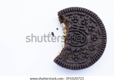 KUALA LUMPUR, MALAYSIA - AUGUST 3rd 2015. Oreo Cookies. Oreo is a sandwich cookie with a sweet cream is the best selling cookie in the US. - stock photo