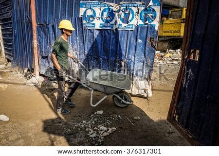 Wood wheelbarrow stock images royalty free images for Gardening tools kuala lumpur