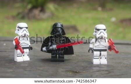 Kuala Lumpurmalaysiaoctober 25th 2017close Lego Star Stock Photo ...