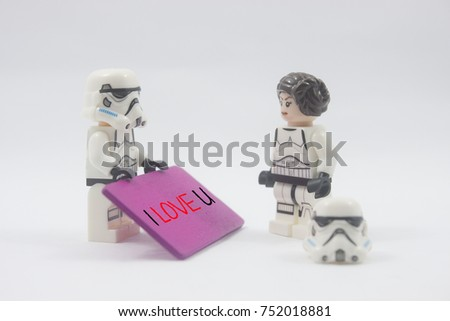 Kuala Lumpurmalaysiaoctober 9th 2017lego Star Wars Stock Photo ...