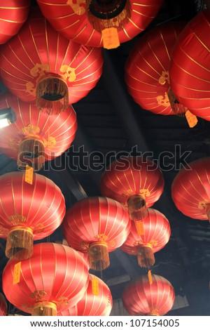 Kuan Yin (Goddess of Mercy) Temple in Georgetown - Penang, Malaysia - stock photo
