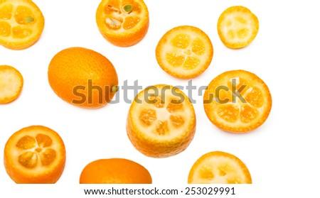 kumquat - stock photo