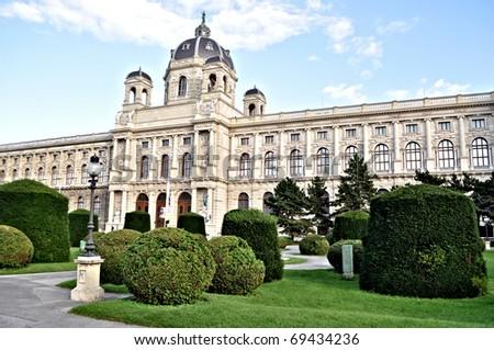 Kunsthistorisches Museum, Vienna, Austria - stock photo