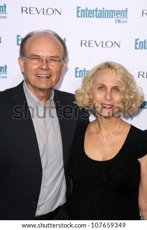 Kurtwood Smith and Joan Pirkle  at Entertainment Weekly's 6th Annual Pre-Emmy Party. Beverly Hills Post Office, Beverly Hills, CA. 09-20-08 - stock photo