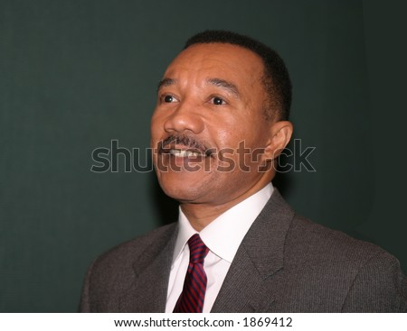Kweisi Mfume, 5 term Democratic Congressman from Maryland & former President/CEO of NAACP - stock photo