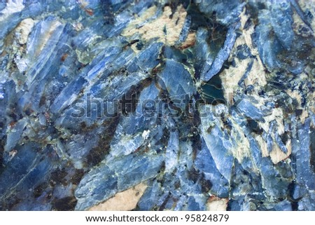 kyanite, cyanite - stock photo