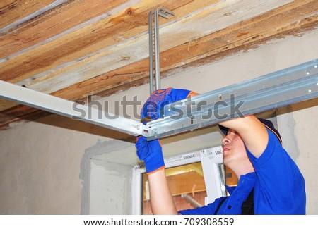 garage door kyiv ukraine september 05 metal roofing install metal