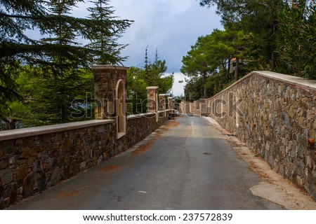 Kykkos Cyprus - stock photo